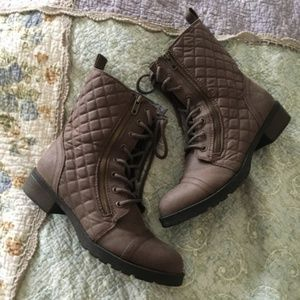 [MOSSIMO SUPPLY CO] Quilted Boots in Original Box